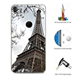 95Street Coque pour Alcatel Shine Lite, Silicone Etui Housse Crystal Clair Soft Gel...
