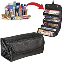 Portable Women Large Cosmetic Bag Makeup Bag Travel Toiletry Pouch Bag Storage Make Up Organizer Toiletry Case Beauty