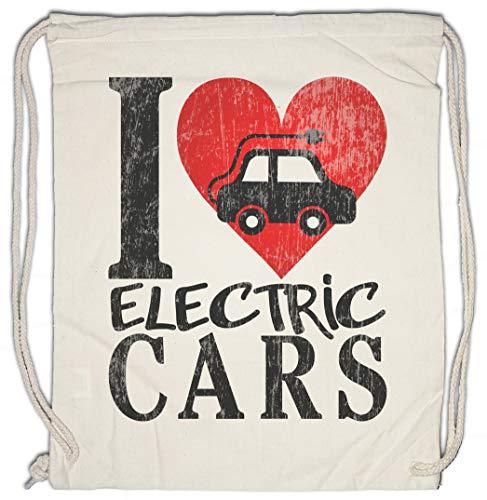 Urban Backwoods I Love Electric Cars Borsa da Palestra Sportiva