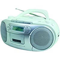 Soundmaster SCD7900WE Portable CD player White CD player - CD Players (60 W, MP3, DAB+,FM, CD audio, LCD, Green) - Trova i prezzi più bassi su tvhomecinemaprezzi.eu