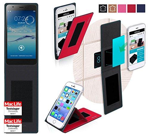 reboon Hülle für Jiayu S3 Tasche Cover Case Bumper | Rot | Testsieger