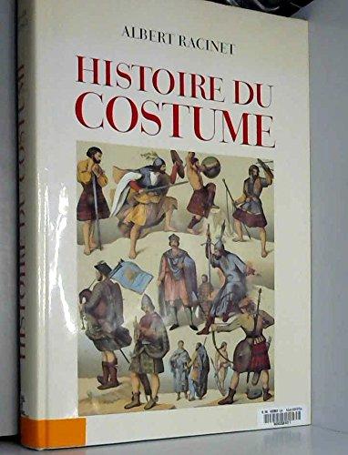 HISTOIRE DU COSTUME par Auguste Racinet
