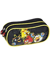 Angry Birds - Trousse 2 Compartiments Noire