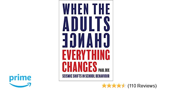 When the Adults Change, Everything Changes: Seismic shifts