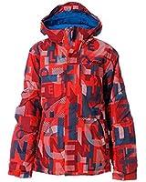 ONeill Kids Children Boys Hubble Snowboarding Jacket Hooded Printed