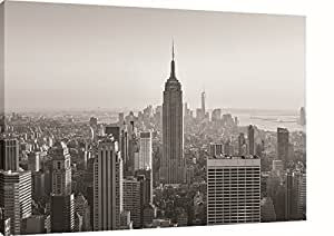 Empire State Building New York Black & White Canvas Print, Many Sizes Available. Ready To Hang.