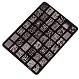 Best Kleancolor gel nail polish - Tonsee® Nail Stamping Printing Plate Image Stamps Plate Review
