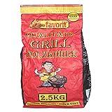 Favorit Grill-Holzkohle 2,5 Kg inkl. Anzünder