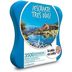 La vida es bella - Caja Regalo - ¡ESCÁPATE Tres DÍAS! - 3500 estancias Rurales y hoteles de hasta 4*