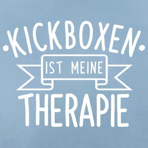 Kickboxen ist meine Therapie - Damen T-Shirt - 14 Farben Himmelblau