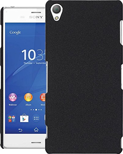 Cubix® Sony Z3 D6633 Case, Super Slim Hard Back Cover for Sony Xperia Z3 D6633 (Denim Black)  available at amazon for Rs.290