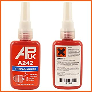 APUK A242 A 242 Like Loctite 50ml bottle Medium Locktite Threadlocker Henkel Threadlock Thread lock locker glue Blue
