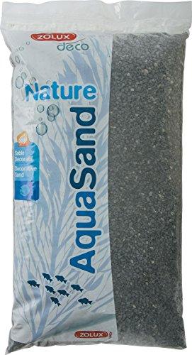 ZOLUX Gravier Natural Acuario Basalto Negro 1a 4mm