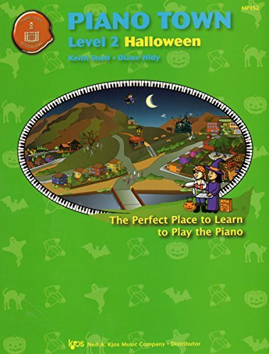 MP152 - Piano Town - Halloween - Level 2 by Keith Snell and Diane Hidy (2007-01-01)