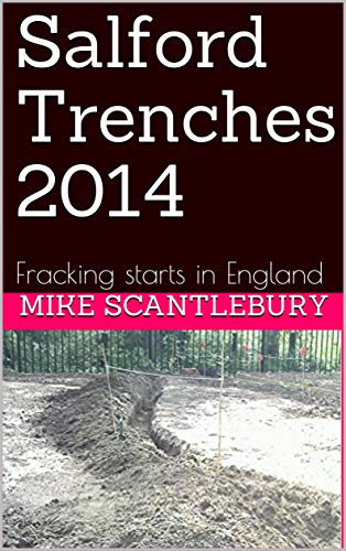 Salford Trenches 2014: Fracking starts in England (Amelia Hartliss Mysteries series Book 13) book cover