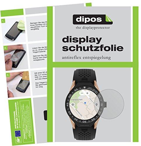 dipos I 6X Schutzfolie matt passend für Tag Heuer Connected Modular 45 Folie Bildschirmschutzfolie