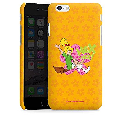 Apple iPhone X Silikon Hülle Case Schutzhülle Bibi Blocksberg Fanartikel Merchandise Eene Meene Blume Premium Case matt