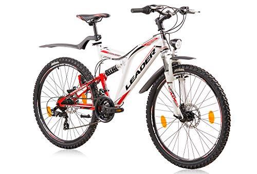tretwerk DIREKT gute Räder Leader Chicago Street Disc 26 Zoll Mountainbike, Jungen-Herren-Fahrrad -