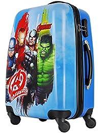 "GAMME Polycarbonate 20"" Light Blue- Marvel Avengers Hard Sided Children's Luggage"
