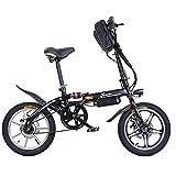 Riscko Bicicleta Eléctrica Plegable MT Super Bike Negro