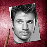 H720 (4 SEASONS) NICK LACHEY - ACEO Sketch Card (Signed by the Artist) #js001