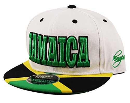 UD Accessories - Casquette de Baseball - Homme taille unique - Blanc - White Black Green Yellow - Taille unique