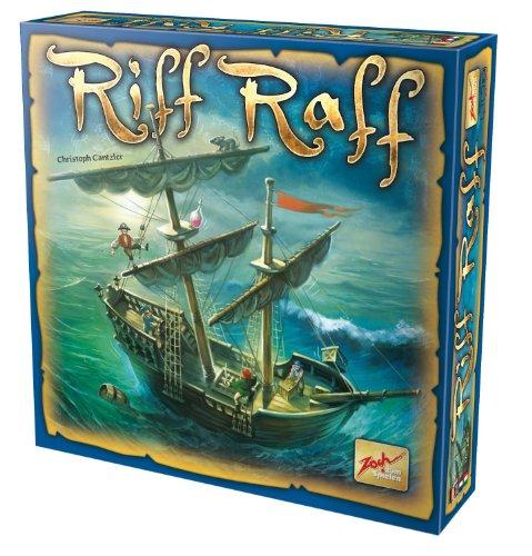 Zoch 601105012 - Riff Raff, Familienspiel