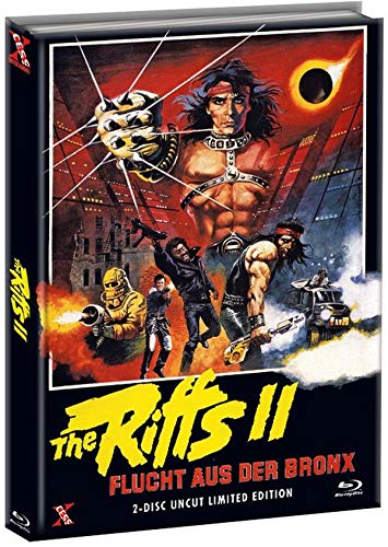 The Riffs 2 - Flucht aus der Bronx - Mediabook Cover A - Limited Edition (+ DVD) [Blu-ray]
