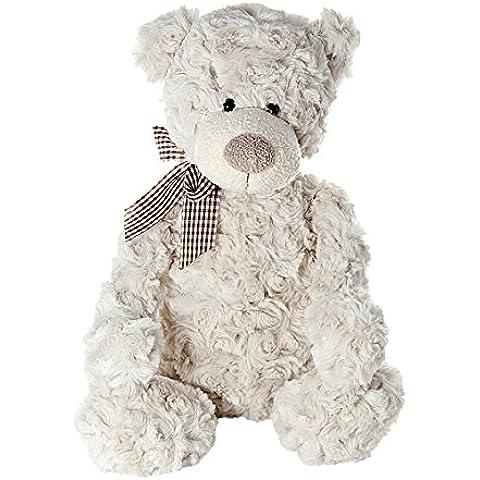 Oso de peluche juguetes blandos de 35 cm marrón claro y muy suave