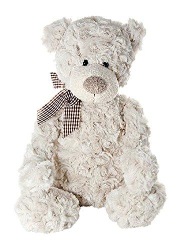 Mousehouse Gifts 45 cm großer Plüschtier Teddybär Teddy Bear Stofftier Beige für Baby oder Kinder Jungen und Mädchen