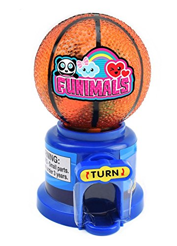 Kreative Sport Candy Dispenser Gumball Maschine mit Basketball Rugby Baseball Top Dispense Gum Snacks Erdnüsse auf Spieltag Home Kinderzimmer Schreibtisch Dekor (Basketball)