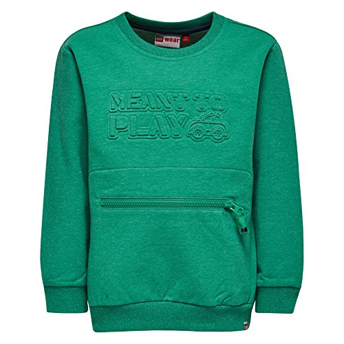 LEGO Wear Baby-Jungen Duplo Sofus 102-Sweatshirt, Grün (Green 860), 92 (92)