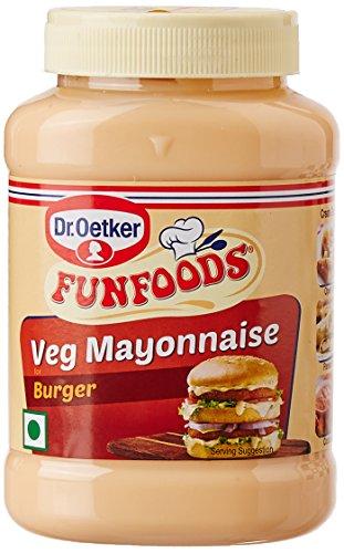 Funfoods Burger Mayonnaise Eggless, 275g