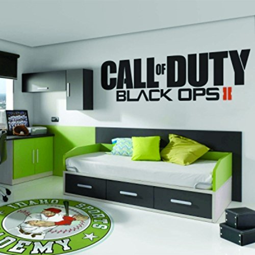 Call Of Duty Black Ops 2 II adhesivo para Xbox One 360 PS4 PS3, Wii, PSP, Video game elegir tamaño *