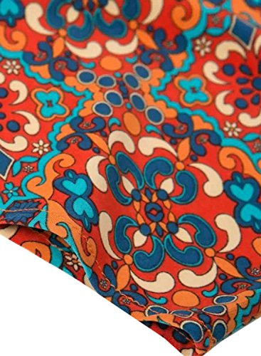 Futurino - Robe - Tunique - Femme Red&Blue