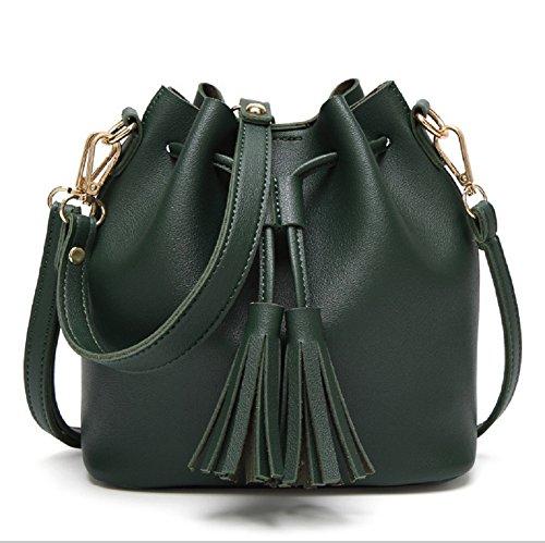 l-life Paket Damen Tasche Casual Schultertasche Handtaschen Cross-Body-Tasche großer Kapazität Taschen, 3