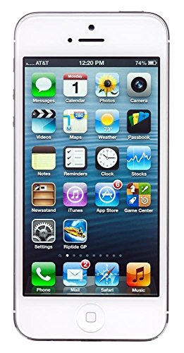 (certified refurbished) apple iphone 5 (black, 16gb) - 51wI5aCaDRL - (CERTIFIED REFURBISHED) Apple iPhone 5 (Black, 16GB)