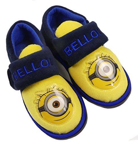 Despicable Me Minions Garçons/Enfants Pantoufles Enfants Tailles DE 6 à 12 Chaussure