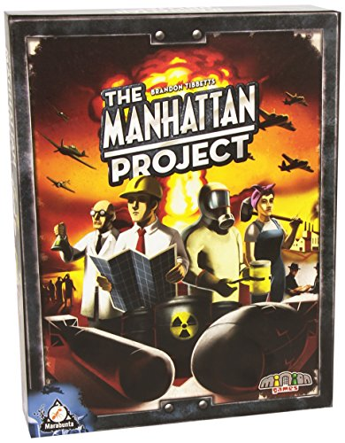 Asmodee - MHP01 - Jeu d'ambiance - The Manhattan Project