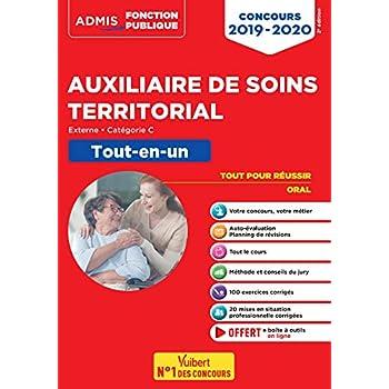 Concours Auxiliaire de soins territorial - Catégorie C - Tout-en-un - Concours externe 2019-2020