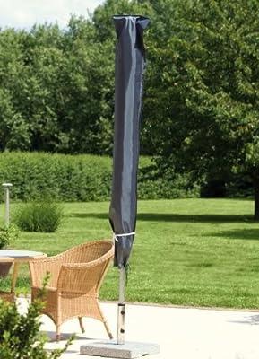 GARTENSCHIRM 300 cm GARTENMÖBEL ABDECKUNG SCHUTZHÜLLE ABDECKPLANE SCHIRM 15176 von Wehncke - Gartenmöbel von Du und Dein Garten