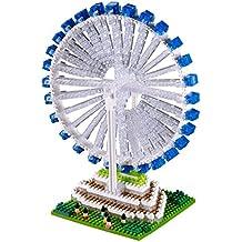 Brixies 410064 - volantes, rompecabezas 3D, Singapur Edition, 900 partes, 5 dificultad para los expertos, multicolor