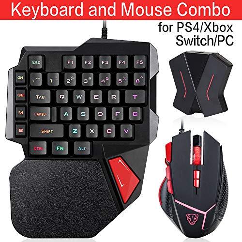 C91 - Adaptador de Teclado y ratón para PS4
