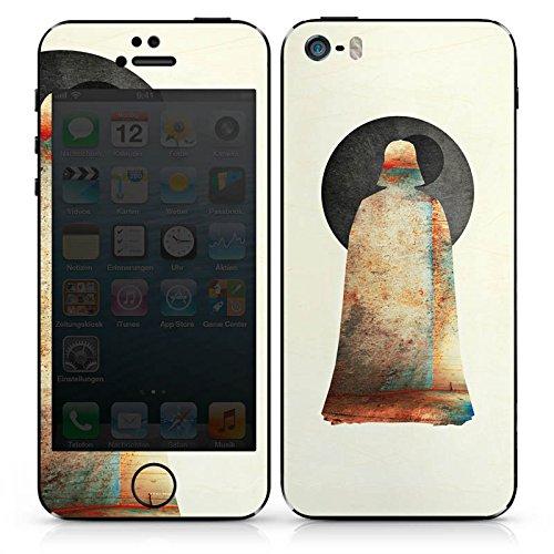 Apple iPhone 4s Case Skin Sticker aus Vinyl-Folie Aufkleber Star Wars Darth Vader Anakin Skywalker DesignSkins® glänzend