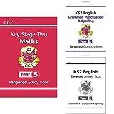 KS2 Year 5 English and Maths 3 Book Bundle