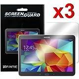 3 x Fintie Ultra Klar Schutzfolie für Samsung Galaxy Tab S 10.5 T800 T805 - High Definition Displayschutzfolie Screen Protector (3 Stück Kristallklar)