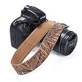 Kameragurt, Sicherheitshaltegurt für Kameras, Retro-Stil, Vintage-Stil, weich, Mehrfarbig, zum Umhängen, als Handschlaufe, für Canon, Nikon, Olympus, Fuji, Pentax, Panasonic, Sony Kameras und Spiegelreflexkameras
