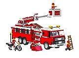 Top Race® Feuerwehr fahrbare Leiter Motorrad Minifiguren Bausteinebox - Best Reviews Guide