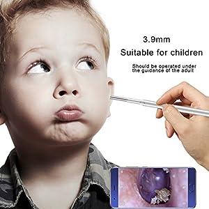 MZ Ohr Endoskop Auge Ohr Löffel Ohr Speculum 3,9 mm HD Kamera Ohrkanal Reinigung 3 In 1