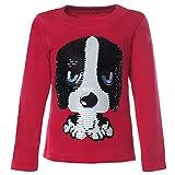 BEZLIT Mädchen Kinder Pullover Pulli Wende-Pailletten Sweatshirt 21549 Pink Größe 158
